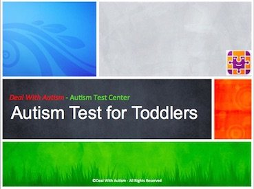 Autism Test for Toddlers in 15 Minutes - INSTANT Quiz Report
