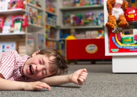 Shopping with Autistic Child - Tantrums