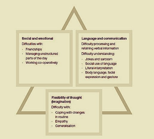 What its Autism - The triad of Impairments