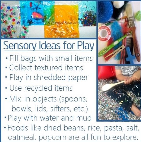 Everyday Sensory Activities for Autistic Children