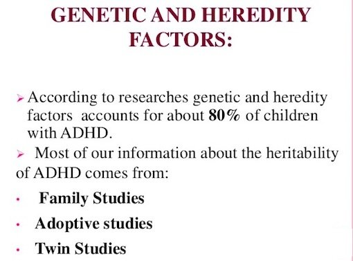 Genetic Causes of ADHD