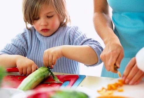 Get your Child to Help you in the Kitchen