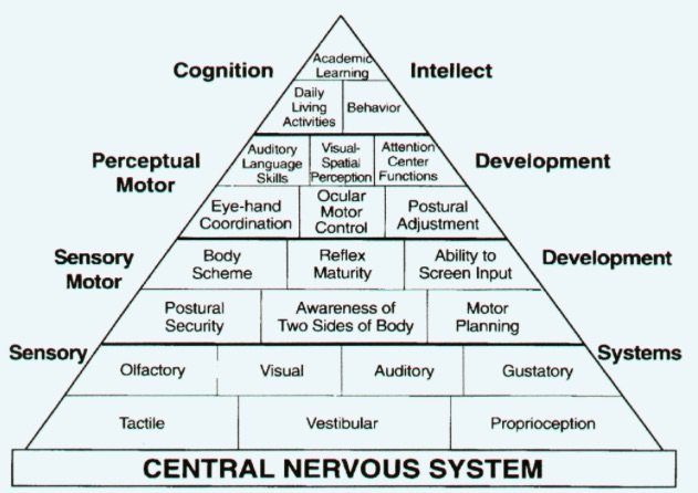 What is Sensory Integration Disorder Pyramid of Learning
