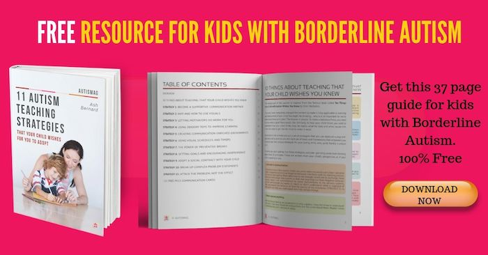 borderline autism resources