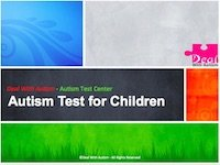 Autism Test for Children menu