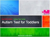 Autism Test for Toddlers menu