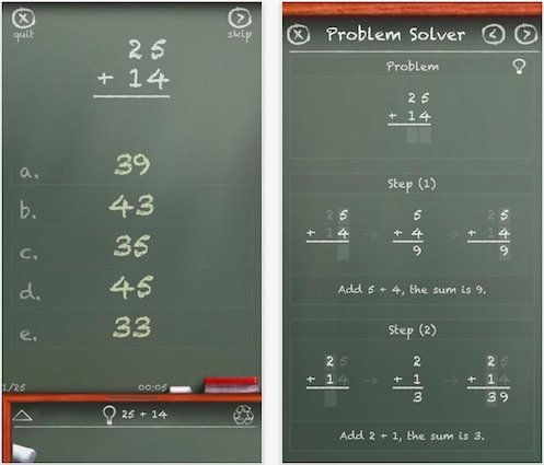 MathBoard - An App for Teach Math Skills to Autistic Children