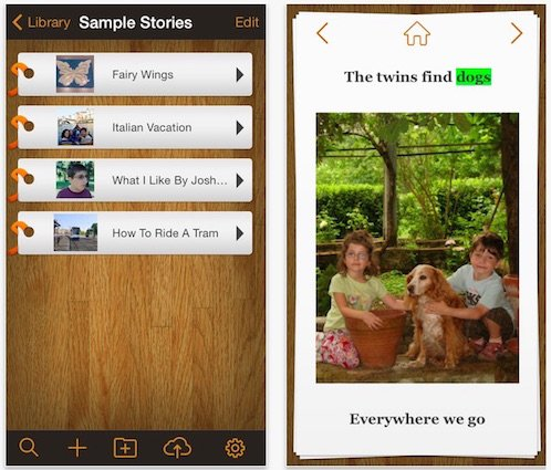 Pictello - A story telling App for Autism