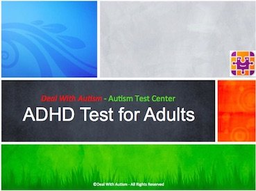 Adult ADHD Test Online