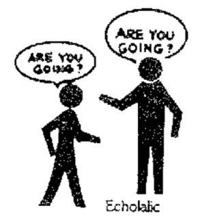 what is echolalia