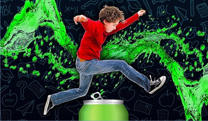 energy drinks likely to cause ADHD in Children