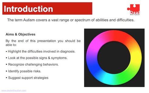 Autism ppt slide 2