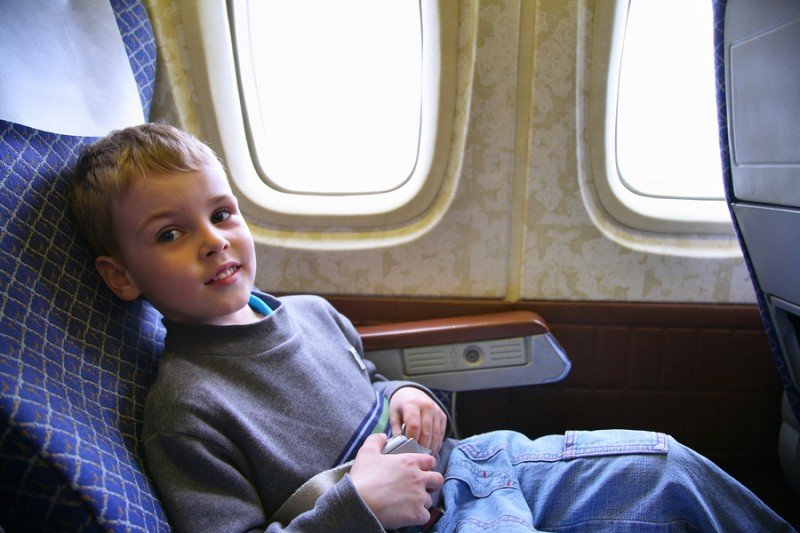 Keep flight durations short while travelling with an child having Autism