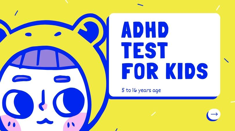 ADHD test for kids