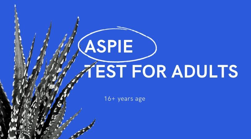 Aspergers test for adults